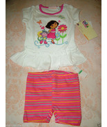 "Kids Headquarters, Baby Girls ""DORA"" Tunic & Shorts Set, Sz.18 Months. NWT - $15.83"