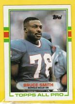 BRUCE SMITH 1989 TOPPS ALL PRO BUFFALO BILLS  - $1.98