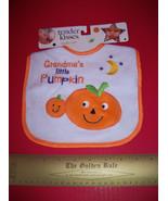 Fashion Holiday Baby Clothes Tender Kisses Grandma Little Pumpkin Hallow... - $3.79