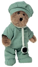 "Boyds Bears ""Doc Bearsley"" - 8"" Plush Bear- #903302 - NWT -2002 -Retired - $19.99"