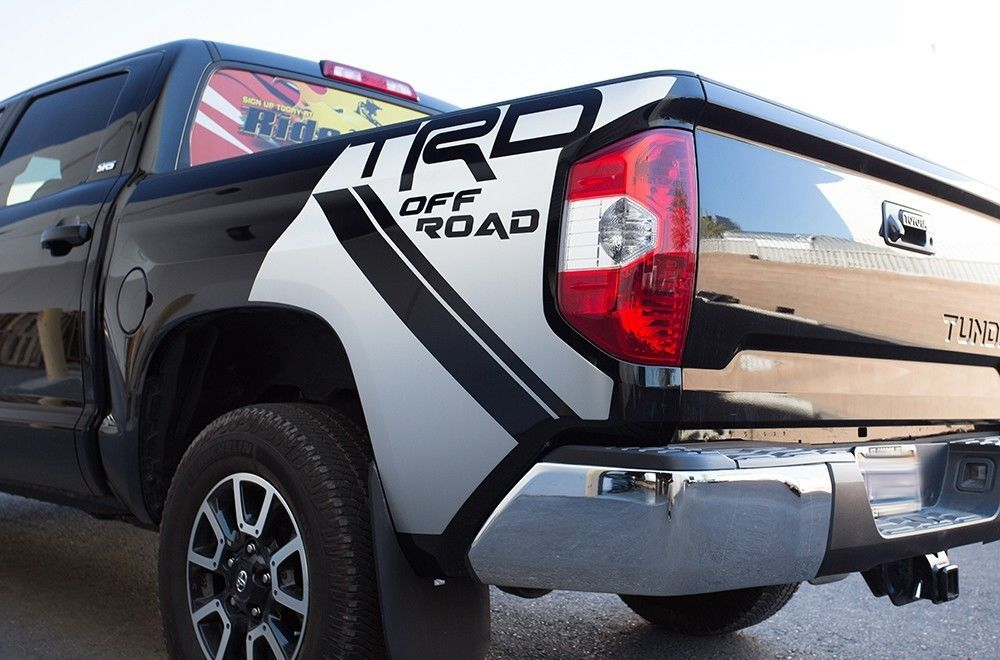 Toyota Tundra Trd 4x4 Fender Graphic Vinyl Sticker Decal
