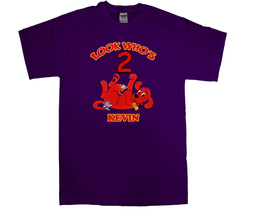 Clifford the big red dog Personalized Purple Birthday Shirt - $16.99+