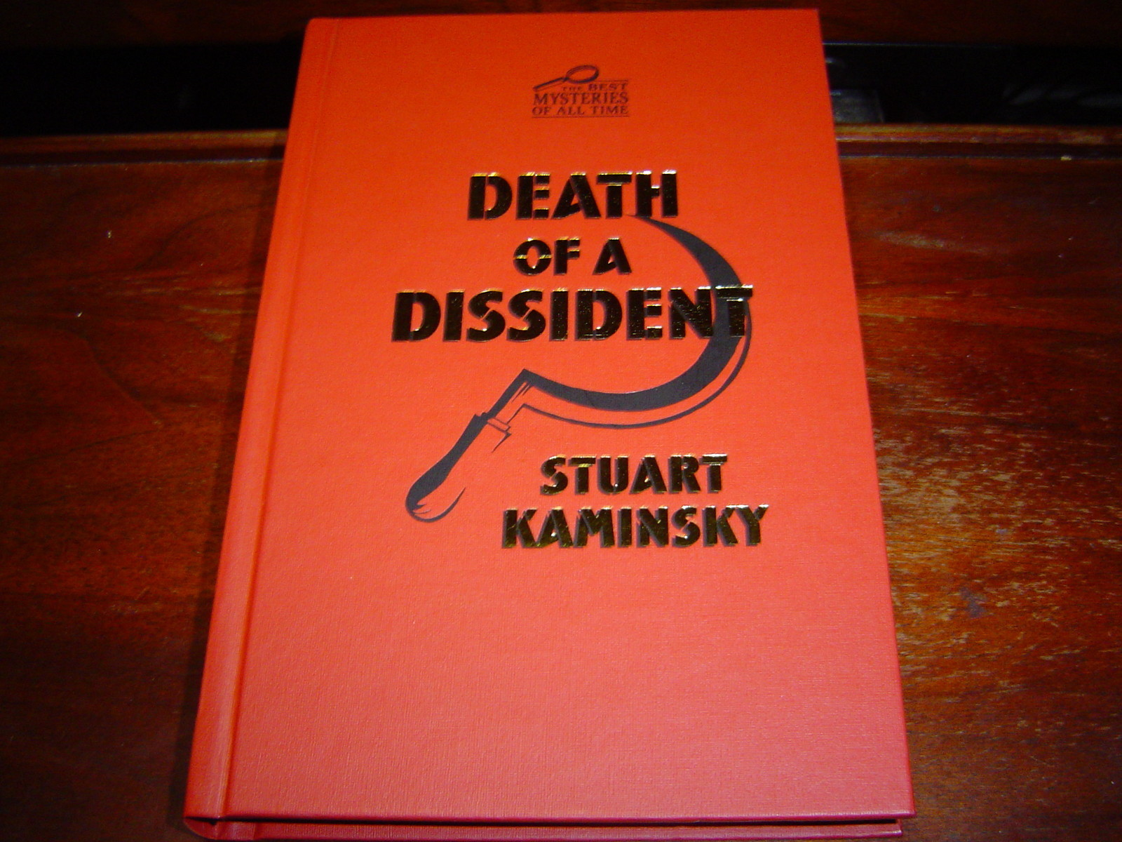 Primary image for *NEW* DEATH OF A DISSIDENT by STUART KAMINSKY (2010) HARDCOVER NEW