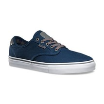 VANS Chima Ferguson Pro (Plaid) Dress Blues Skate Shoes WOMEN'S 8.5 - $35.14