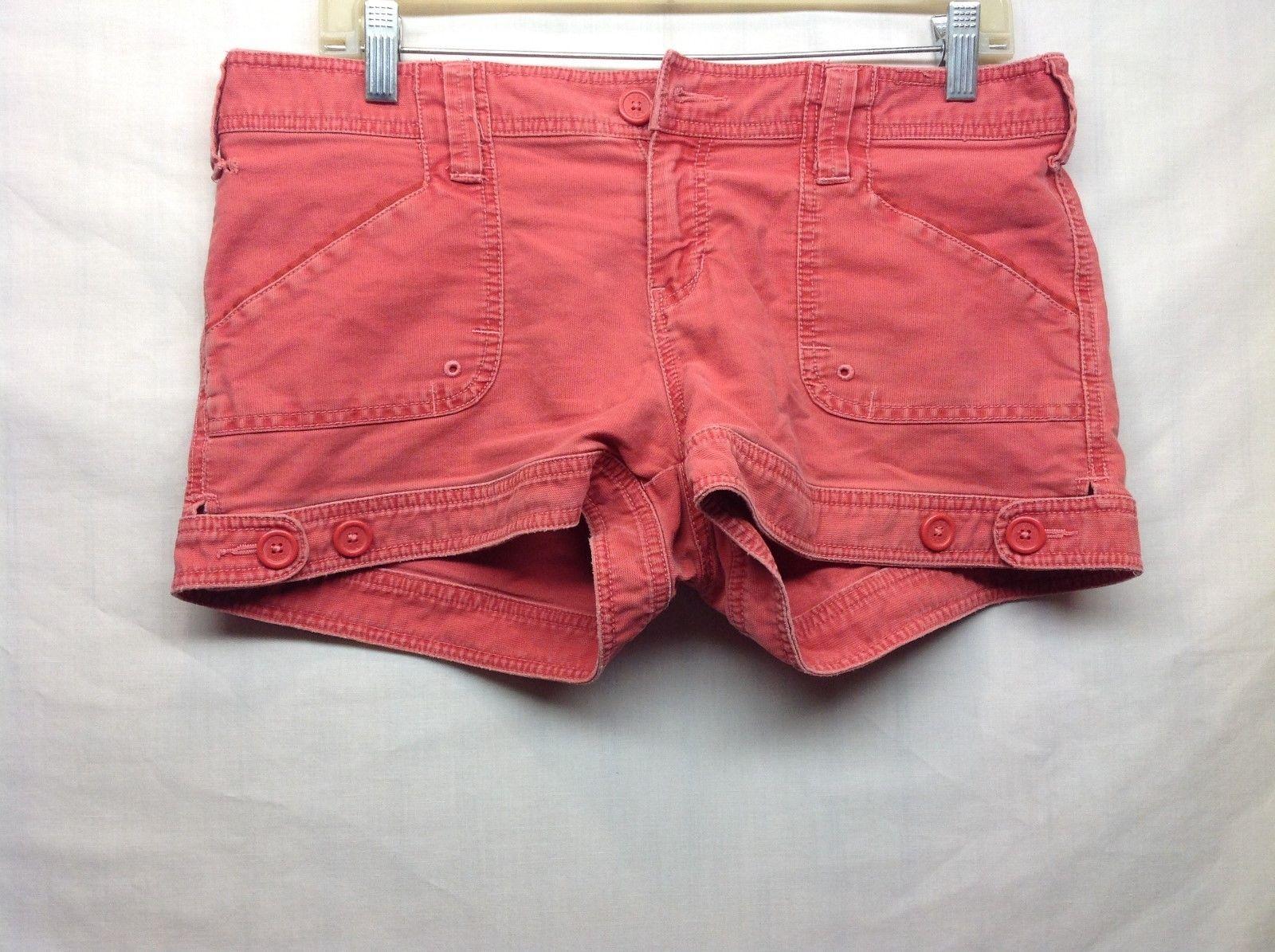 Aeropostale Salmon Colored Jean Shorts Sz 9-10