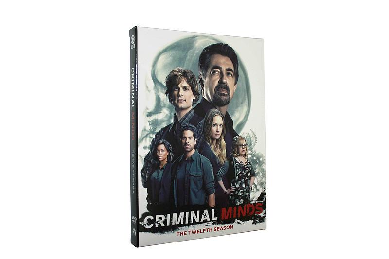Criminal Minds The Complete Season 12 DVD Box Set 5 Disc Free Shipping