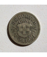 1850 AB 5 Rappen Switzerland - £56.27 GBP