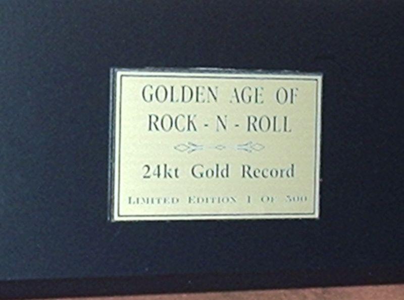 JOURNEY  24kt GOLD 45 RECORD LTD EDTION / 600 ARTIST'S IN EBAY STORE