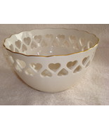 Lenox Candy Bowl - Rose and Heart Design - $20.00