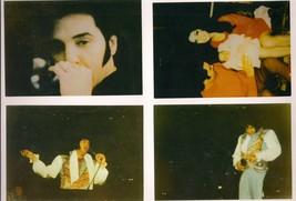 Elvis Presley Vintage 4 Copied Color Photos 1 is Priscilla & Baby Uncut ... - $9.49