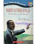Booklet Martin Luther King Jr March on Washington Scholastic Softcover 4... - $3.79