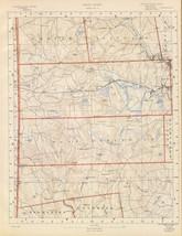 1891 antique map poster Geologocal  sheet 5 topographic RHODE ISLAND 008 - $14.85