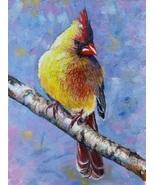 Akimova: CARDINAL ,bird,Christmas - $60.00