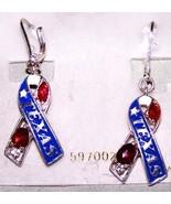 Texas Ribbon Earring & Pin Set - brand new - $7.99