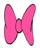 Pink Bow6370-Digital Download-ClipArt-ArtClip-D... - $3.00