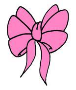 Pink Bow3870-Digital Download-ClipArt-ArtClip-D... - $3.00