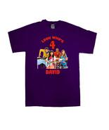 Fresh Beat Band Personalized Purple Birthday Shirt #2 - $16.99 - $22.99