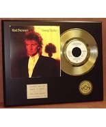 ROD STEWART  24kt GOLD 45 RECORD LTD EDTION / 600 ARTIST'S IN EBAY STORE - $90.95