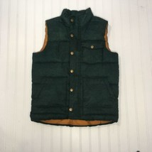 Old Navy Men's Puffer Vest Green w/ brown Size Large (10-12) - $18.37