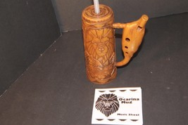 Walt Disney World  Animal Kingdom Tree of Life Musical Ocarina Mug Flute Cup - $32.71