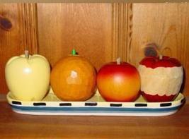 Wooden Fruit - $9.95