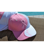 Breast Cancer BELIEVE Pink Ribbon Embroidered A... - $44.00