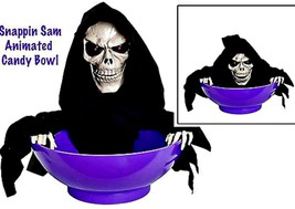 Animated Snapping Sam Trick or Treat Halloween Candy Bowl - £46.31 GBP