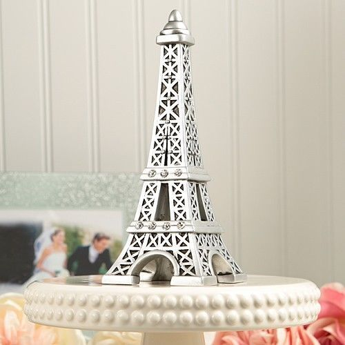 Primary image for Eiffel Tower Paris Cake Topper Centerpiece Wedding Reception Beautiful Unique