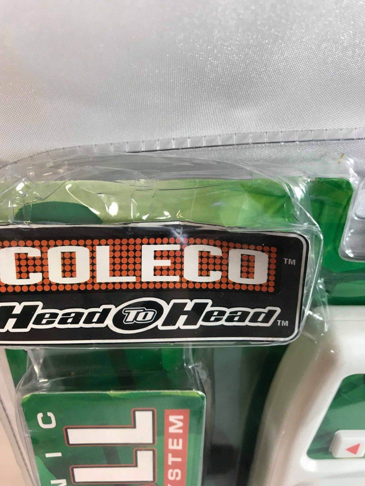 Coleco Head to Head Electronic Baseball 2 Player Game System