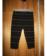 Faded Glory Baby Clothes 12M Infant Girl Bottoms Pants Rainbow Fashion L... - $9.49