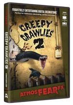Creepy Crawlies 2 DVD Halloween Virtual Window Projection Prop by AtmosF... - £26.21 GBP