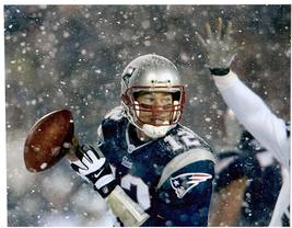 Tom Brady NE Patriots Playoffs 2001 11X14 Football Memorabilia Photo - $15.95