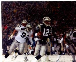 Tom Brady NE Patriots Playoff TD 2001 11X14 Color Football Memorabilia P... - $14.95