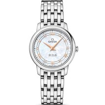 Omega 424.10.27.60.55.001 De Ville Mother of Pearl Dial Women's Watch - $1,498.99