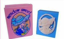 meadow sweet Eraser 1976' Pink Book Case Type Old SANRIO Retro Cute Supe... - $36.12
