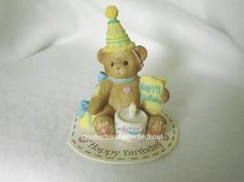 Cherished Teddies Giftable Mini Happy Birthday 2009 NEW - $18.76