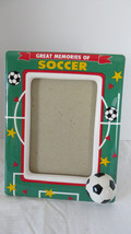 Ganz Ceramic Soccer Picture Frame - $5.89