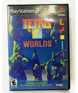 Playstation 2 tetris worlds ps2 year 2001 game - $7.92