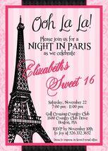 Paris sweet sixteen invitation thumb200