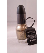 Sephora by OPI Nail Enamel Lacquer Colour Polish Blasted Gold shatter cr... - $10.35