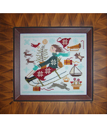 Christmas Joy Ride cross stitch chart Carriage House Samplings - $9.00