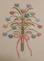 A Posy For You cross stitch chart Freda's Fancy Stitching - $8.10
