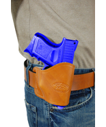 New Barsony Tan Leather Yaqui Holster Kel-Tec Sccy Kimber Compact 9mm 40 45 - $26.99