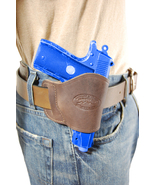 NEW Barsony Brown Leather OWB Yaqui Holster Paraordnance Small 380 Ultra... - $26.99