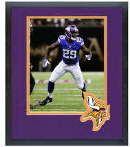 Xavier Rhodes 2014 Minnesota Vikings - 11 x 14 Team Logo Matted/Framed Photo - $42.95