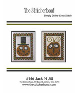 Jack N Jill cross stitch chart The Stitcherhood - $7.20