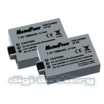 2 x BATTERY For CANON LP-E5 LPE5 Rebel Xsi Xs T1i 450D - $12.56+