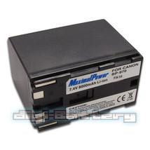 For CANON BP-970 BP970 8000mAh Camcorder Battery BP-970G BP970G BP-950G ... - $25.89