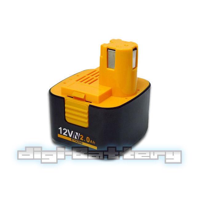 For PANASONIC 12V Power Tool Battery EY9005B EY9006B EY9101 EY9106 EY9200 EY9201