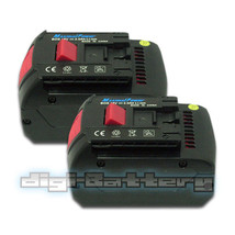 TWO BATTERIES For BOSCH 18V Power Tool BAT618 BAT609 17618 3000mAh BATTE... - $106.89
